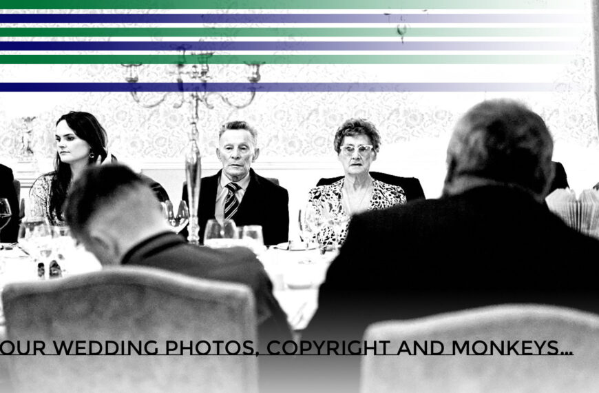 Your Wedding Photos, Copyright and Monkeys…