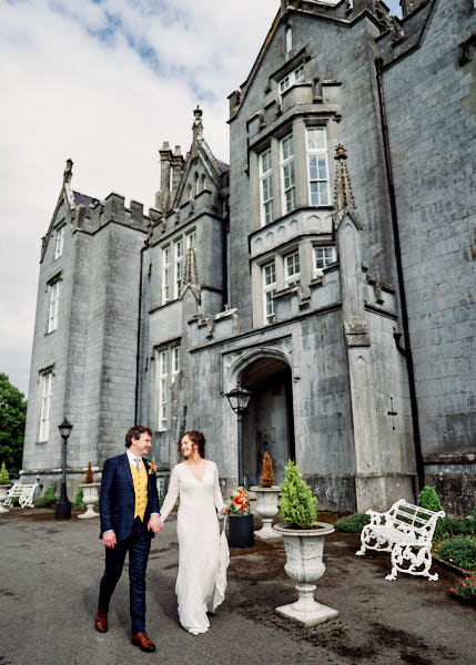 Jamie Gillies / My Real Name Is James Wedding Photography Grace & Jonathan  Kinnity Castle Hotel Offaly Ireland 2020